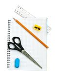 School supply set Stock Photo