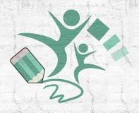 School symbol. Creative design of school symbol Royalty Free Stock Image