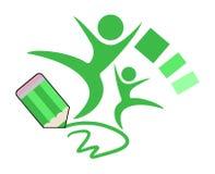 School symbol. Creative design of school symbol Royalty Free Stock Photo