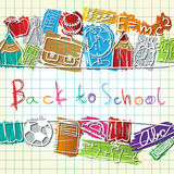School symbols Royalty Free Stock Photos