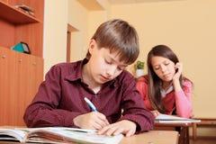 School task Stock Image