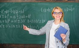School teacher explain things well and make subject interesting. What makes great teacher. Teaching complex multifaceted stock photos