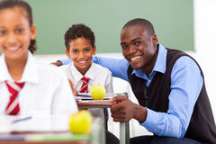 School teacher students Royalty Free Stock Photography