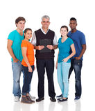 School teacher students royalty free stock image