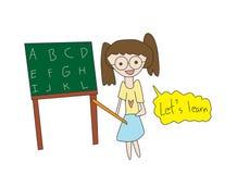 School teacher Stock Photo