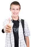 School teen Royalty Free Stock Image