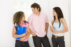 School teens Stock Photography