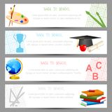School Template Royalty Free Stock Photos