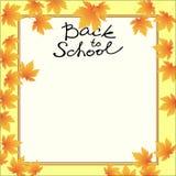 School_template Stockfoto