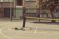 School Tennis court Royalty Free Stock Photography