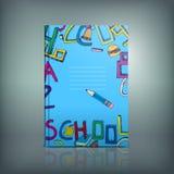 School Test Book 03 B Stock Photo