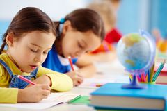 School test Royalty Free Stock Photography