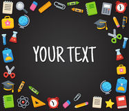 School text template Stock Photo