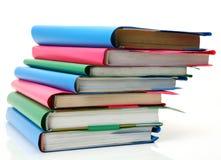 School textbooks stock images