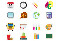 School theme. Vector illustration of back to school theme Royalty Free Stock Photo