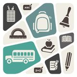 School theme background Royalty Free Stock Photo