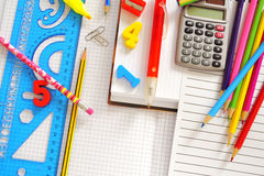 School things Royalty Free Stock Photos