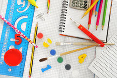 School things Stock Images