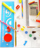 School things Royalty Free Stock Images