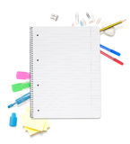 School things stock photo
