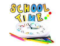 School time. Conceptual image of education & knowledge Royalty Free Stock Photos