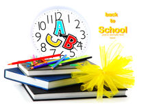 School time. Conceptual image of education & knowledge Royalty Free Stock Photo