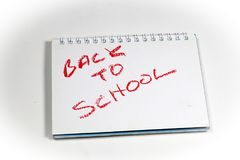 School Time, Back to School. School equipment and supplies Stock Photos