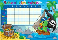 School timetable topic image 8 Stock Images