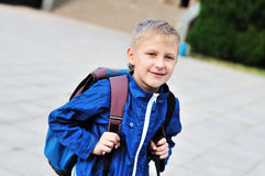 From school to home Stock Images