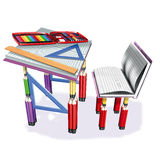 School tools Royalty Free Stock Photo
