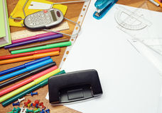 School tools. Royalty Free Stock Images