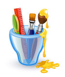 School tools Stock Image