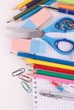 School tools,back to school Stock Photo