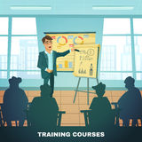 School Training Courses Education Poster Stock Images