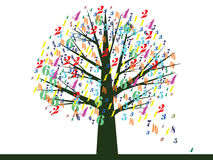 School tree Royalty Free Stock Images
