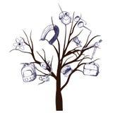 School tree Stock Image