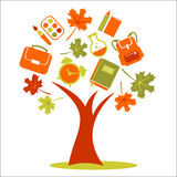 School tree Stock Image