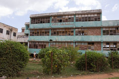 A school in Trinidad (Cuba). An old school (still active) in Trinidad (Cuba Royalty Free Stock Photo