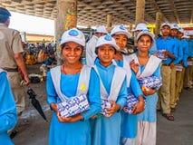 School trip to Rishikesh Stock Photography