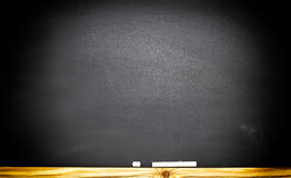 The school or university blackboard with threadbare chalk. Background Royalty Free Stock Photography