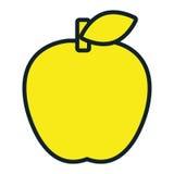 School Utensil flat icon graphic. Stock Photo