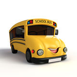 School Van Character Royalty Free Stock Photos