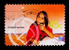 School van de Lucht, de Binnenlanddiensten serie, circa 2001 Stock Fotografie