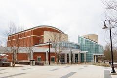 School van Muziek Complex en Watson Hall bij de Universiteit van noch Stock Afbeelding
