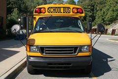 School Van Stock Photo