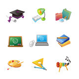 School vector icon Royalty Free Stock Photos