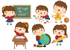 School vector set Royalty Free Stock Images