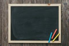 School vintage blackboard Royalty Free Stock Image