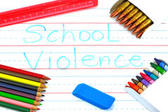 School Violence Royalty Free Stock Images