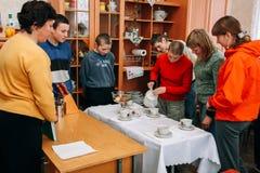 School voor kinderen met intellectuele handicaps royalty-vrije stock foto